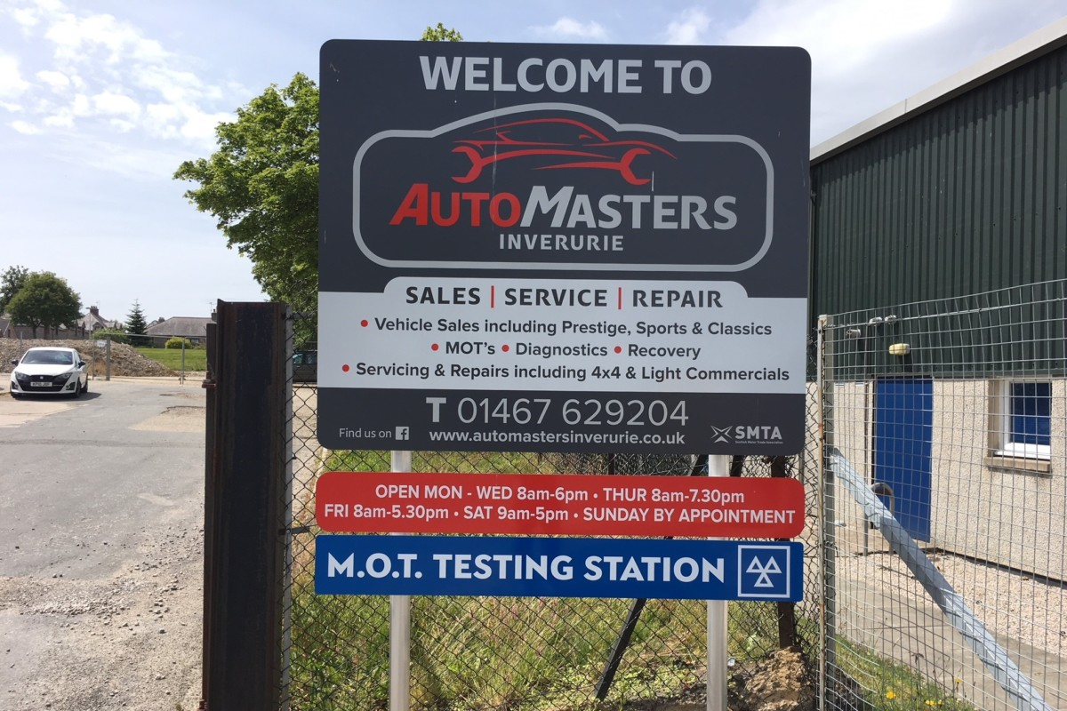 AutoMasters Sign