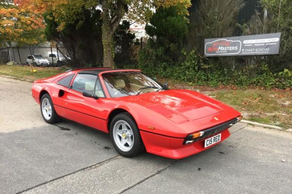 Ferrari 308 GTS Quattrovalvole 1985 (RHD)
